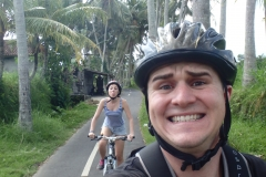 Bali backcountry biking.
