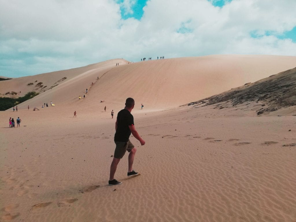 sand dunes, giant, te paki, new zealand, Northland, New Zealand