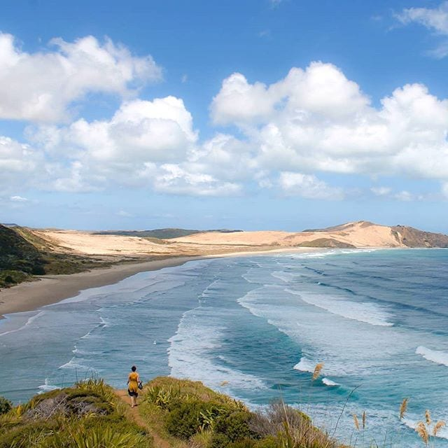 cape reinga, new zealand beach, northland