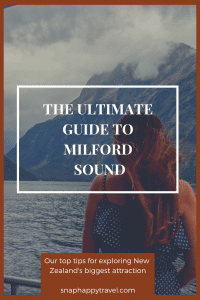 milford sound cruise guide