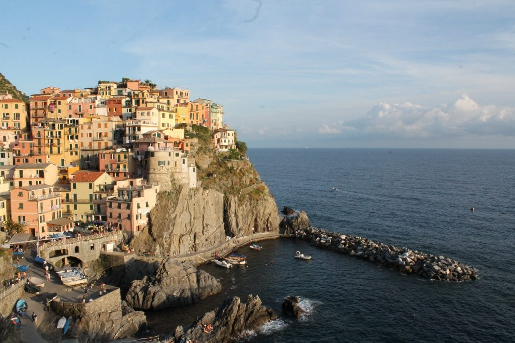 view from Manarola cemetery, unique thing to do in Cinque Terre