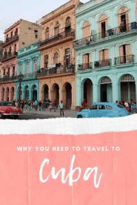 Cuba is one of my favourite destinations ever. I haven't stopped thing about Cuba since I've returned. Here's my reasons why you must travel to Cuba.