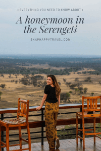 A honeymoon in the Serengeti is an amazing experience. Here I'll tell you where we stayed, how we got there and what we ate in the Serengeti.