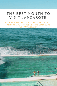 October is a great time to visit Lanzarote. The weather is still warm, the prices are cheaper and the island's many beaches will be so much quieter.  #lanzarote #lanzarotecostateguise