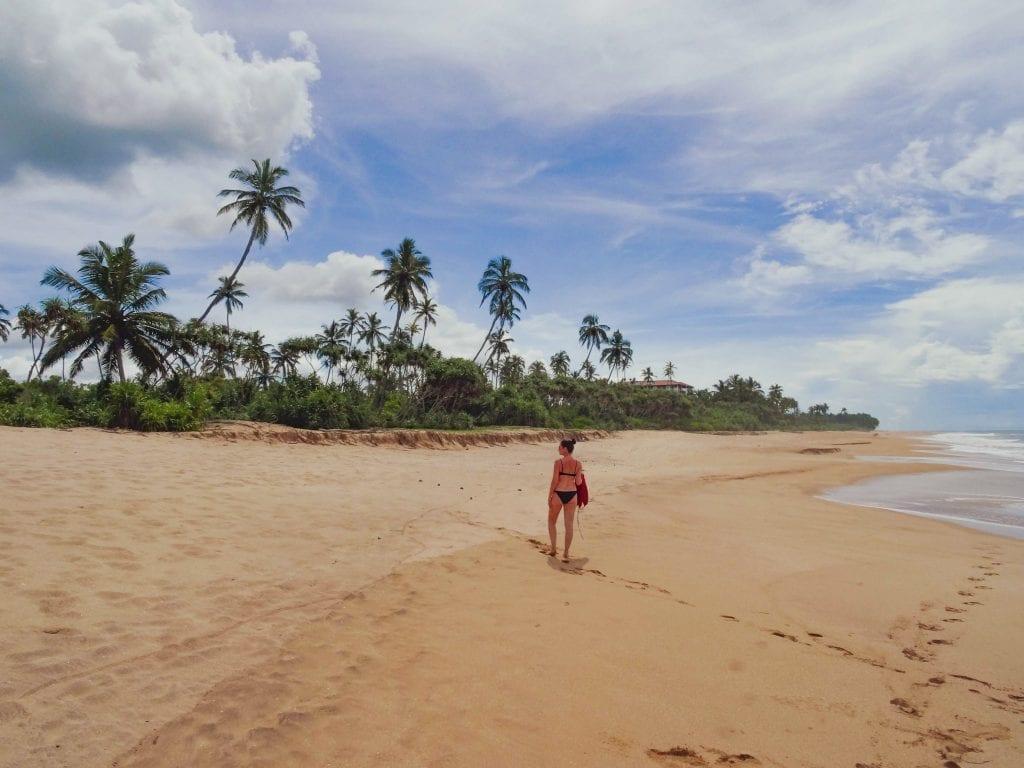 southern sri lanka beach