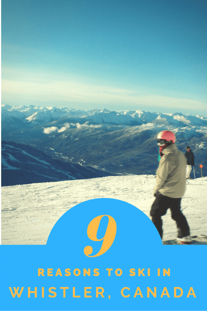 9 home truths about working in Whistler for a ski season! Everything you need to know before you go.  #whistlercanadawinter