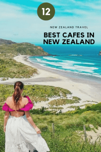 Listing 12 of the best cafes on the South Island of New Zealand. From a historic building on the edge of Lake Wakatipu to a cafe on an airport.