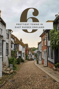 Detailing 6 of the best towns to visit in East Sussex, England. From flashy Brighton to quaint & photogenic Rye.There's a town for everyone in East Sussex.