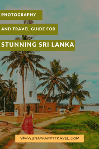 The ultimate 7 day Sri Lanka itinerary for those seeking an adventure! Highlights include seeing a baby elephant in the wild and magical beach sunsets! Sri Lanka Travel   Sri Lanka Photography  