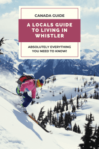What is living in Whistler really like. Here's the lowdown on finding a job & an apartment and whether its better to be a skier or a snowboarder!
