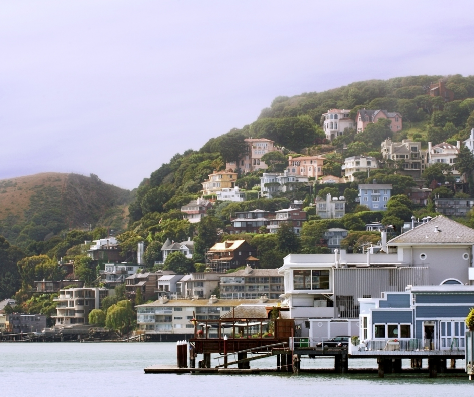 homes on the water sausalito
