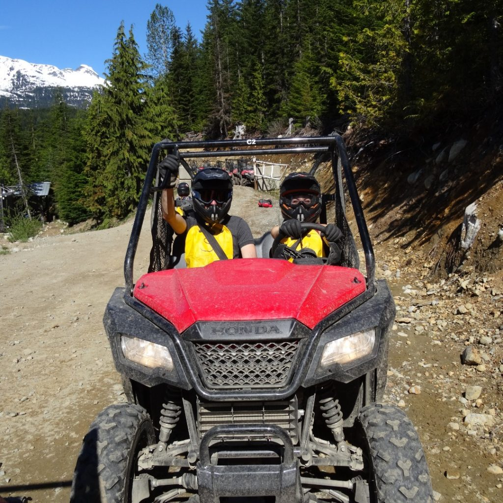 off road buggying in whistler