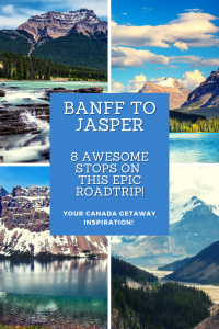 A road trip is one of the best things to do in Banff and the Banff to Jasper route is the most scenic drive in the world. Here, I list 8 of the best stops!