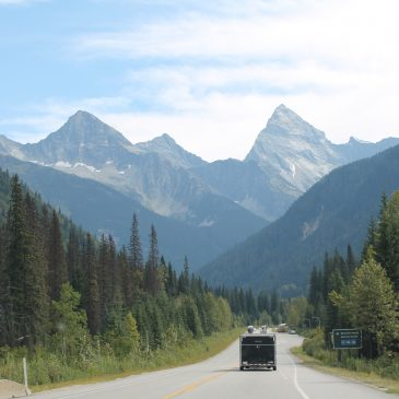 drive from Whistler to Banff