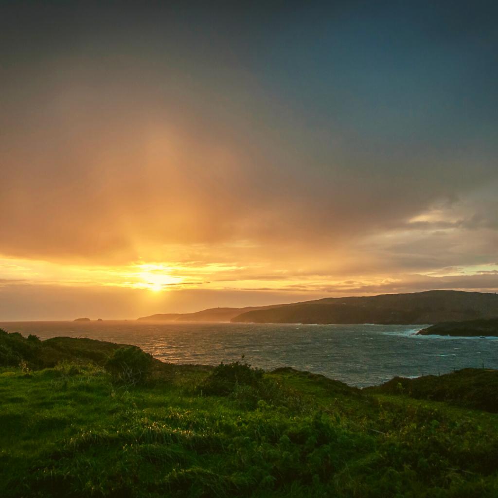 sunrise at tragumna beach west cork