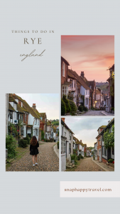 Rye is one of my favorite towns in England, it's full of historic stone buildings, winding cobbles streets and plenty of fun things to do!